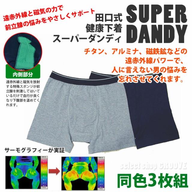 【送料無料】 田口式健康パンツ スーパーダンディ...