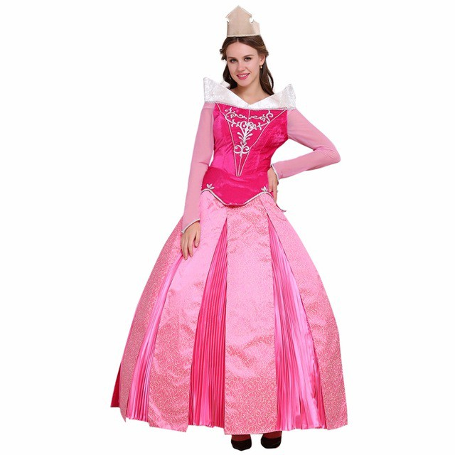 高品質 高級コスプレ衣装 眠れる森の美女 風 オー...