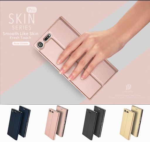 Sony Xperia XZ Premium SO-04J 用/5.5型用レザー...