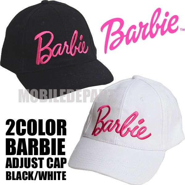 Barbie バービー ブランド コットン キャップ レ...