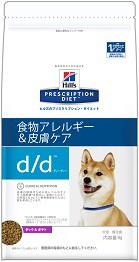 ヒルズ  犬用 d/d ダック&ポテト 3kg