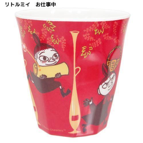 ◆ムーミン メラミンカップ/リトルミィ仕事中 (...