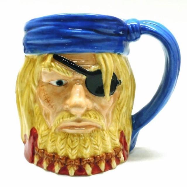◆アメリカン雑貨 海賊ビアジョッキ(キャプテン...