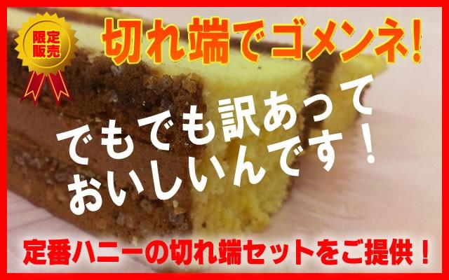【訳あり】切れ端 長崎カステラ