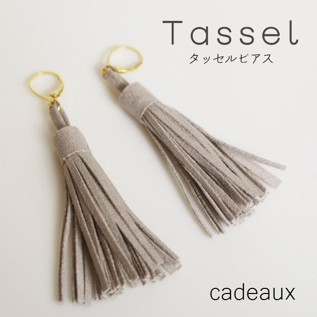 【cadeaux】アクセサリー*タッセル*フレンチフ...