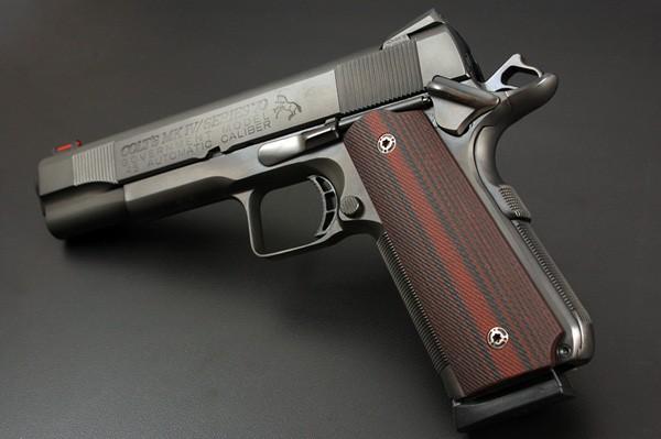 VZ GRIPS・ダブルダイヤモンズグリップ・M1911ガ...