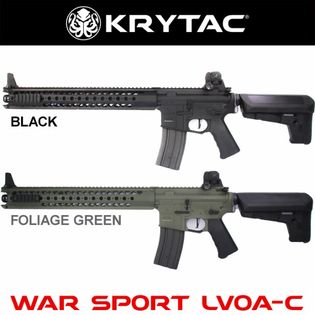 KRYTAC(クライタック)WARSPORT LVOA-C BK (WAR...