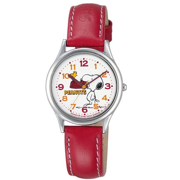 スヌーピー 時計 snoopy キッズ腕時計 レッド AA9...