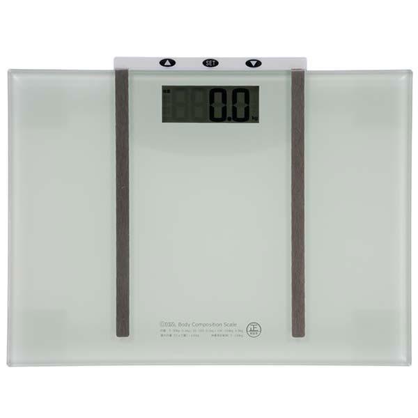 体重計 デジタル体重体組成計 HB-K115-W オーム電...