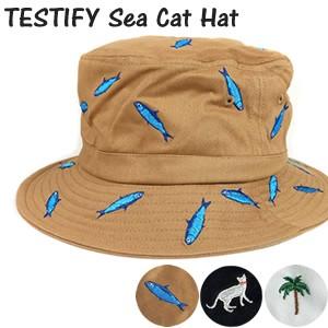 TESTIFY Sea Cat Hat サファリハット