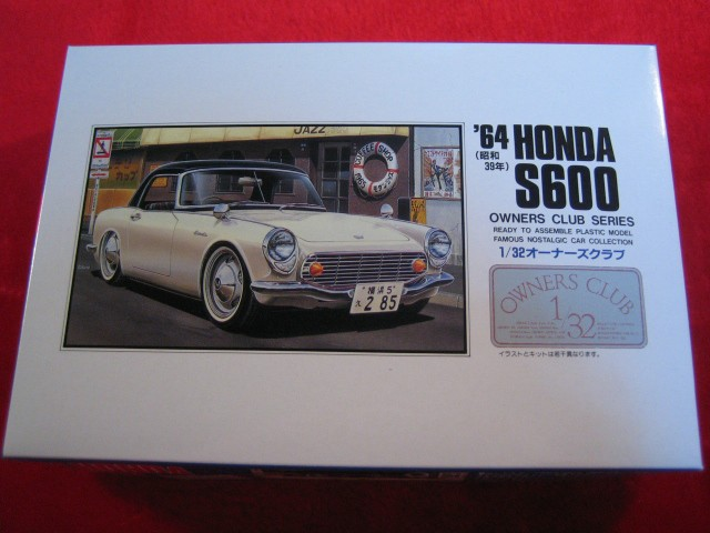 【遠州屋】 '64 ホンダ S600 昭和39年 1/32 (3) M...