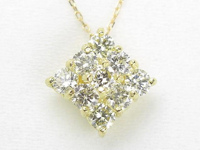 0.4ct ダイヤモンド K18 ネックレス:5日以内