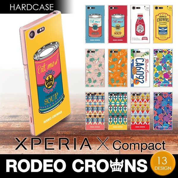 Xperia X Compact (SO-02J) 【RODEOCROWNS/ロデオ...