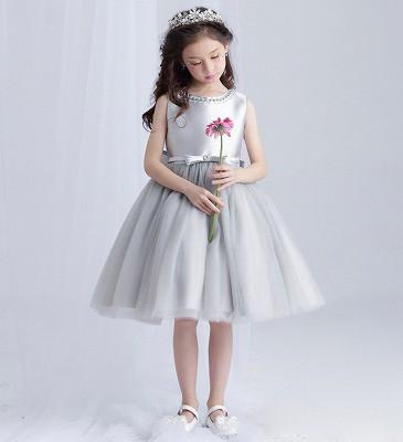 33a5ac2c41f58 1万円以上送料無料 110-160CM 子供ドレス キッズドレス ワンピース バラ ...