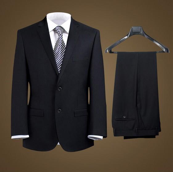 2つボタン/フォーマル男性スーツ/ビジネス/スリム...