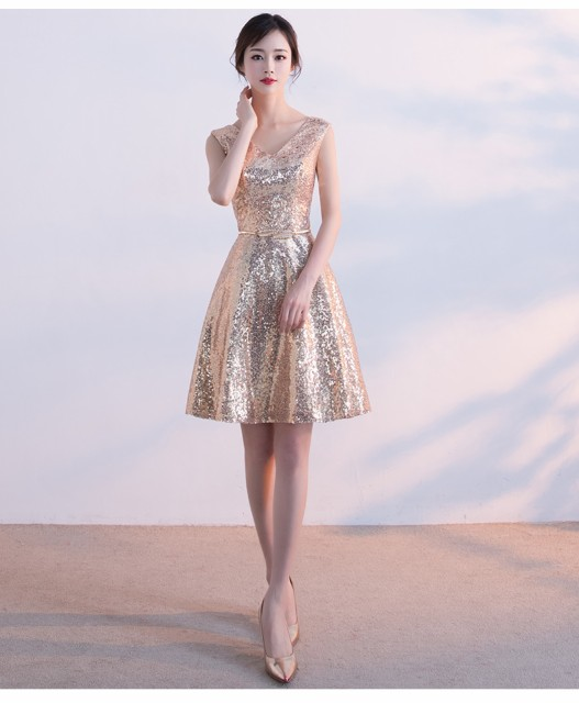 高級感 Vネックパーティードレス セクシードレス ...