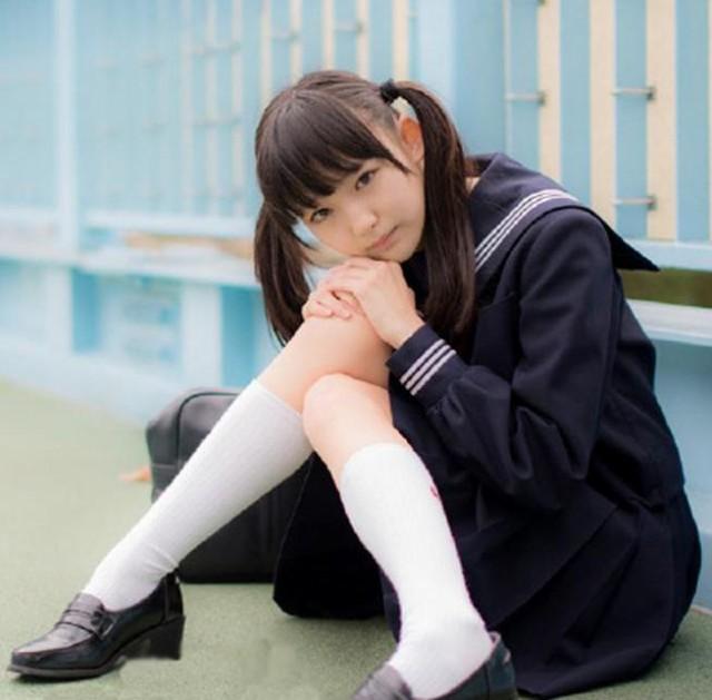 コスプ可愛いセーラー服長袖制服コスプレ可愛いセ...