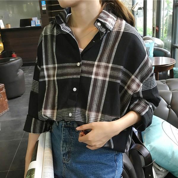 シンプル チェック シャツ 羽織り ビッグチェック...