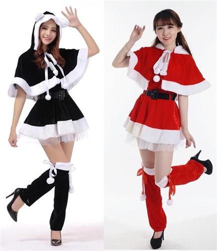 大特価!クリスマスイベントに!サンタ衣装セット...