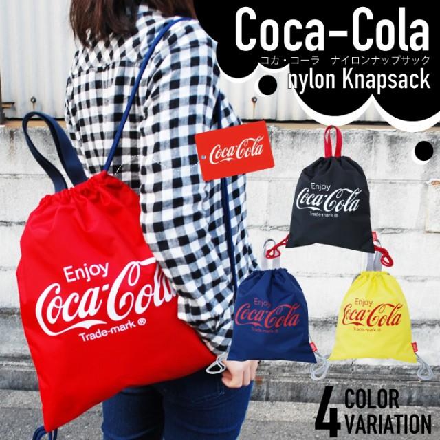 コカ・コーラ ナイロン ナップサック COCA COLA ...
