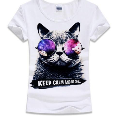 猫 猫柄 Tシャツ ラグラン トップス レディース ...