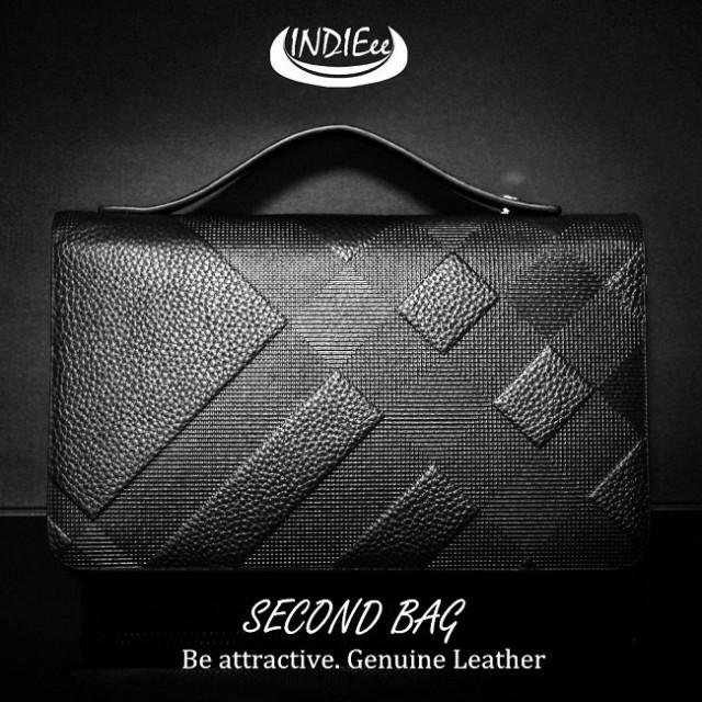 60857fdeb684 INDIEee インディ 本革 セカンドバッグ ハンドバッグ ケース セカンド メッシュ柄 大きい財布 結婚式 バッグ