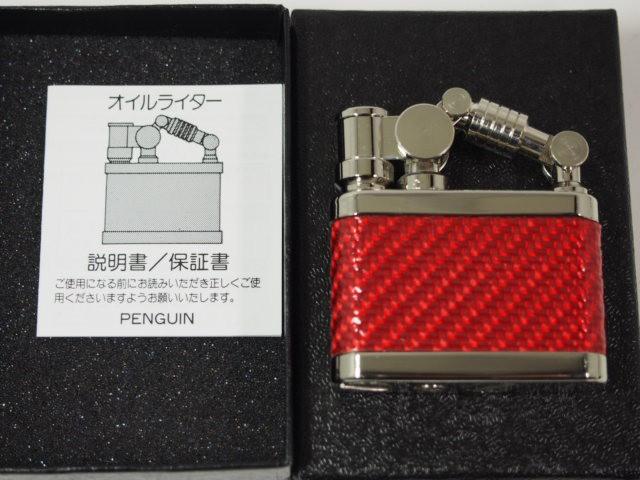 新品日本製 DUKE デューク1 オイルライター赤Niカ...