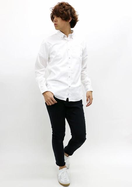 カジュアルシャツスタイル