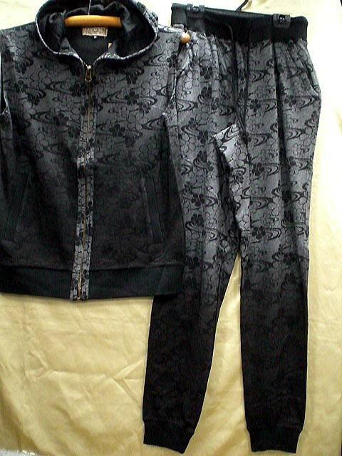錦 和柄 ベスト上下&半袖Tシャツセット