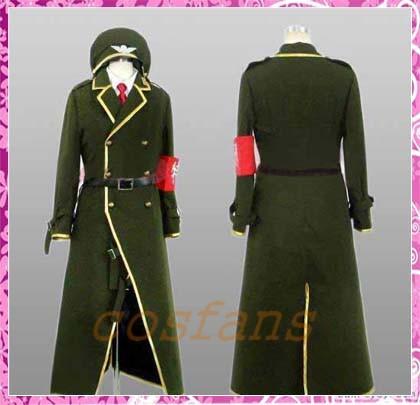 コスプレ衣装 DOLLS 第二部隊 カーキ 制服