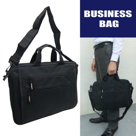 ビジネスバッグ A4サイズ 前面ファスナーポケッ...