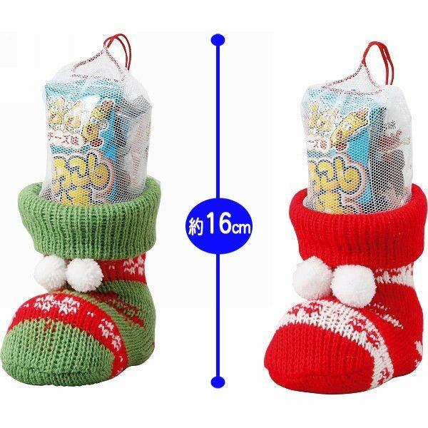 クリスマス お菓子ブーツ クリスマスニットブーツ...