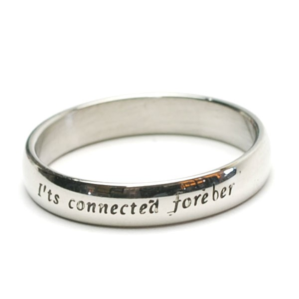 It's connected forever ステンレス メッセージ ...
