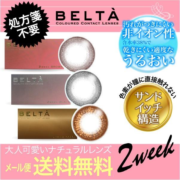 2week カラコン 特典付き  【メール便 送料無料】...