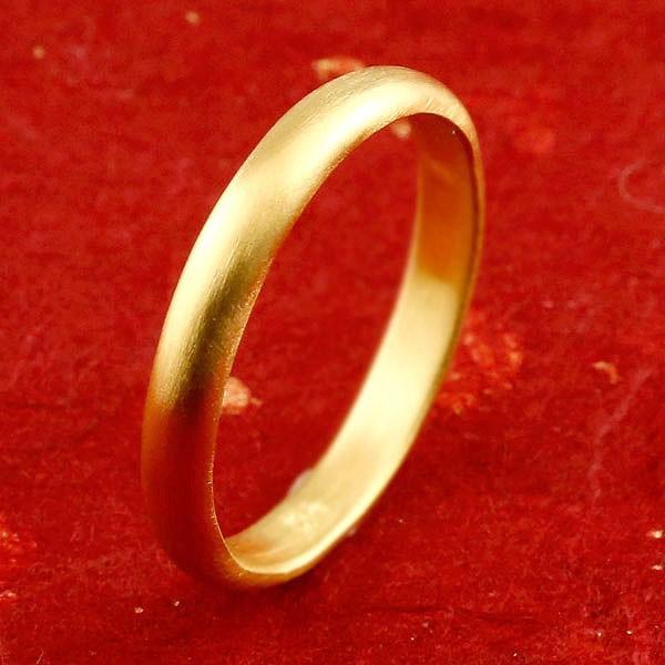 指輪 純金 24金 k24 ピンキーリング 地金リング 1-10号 ストレート レディース 女性用 人気 リング