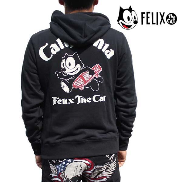 フィリックス パーカー メンズ Felix the Cat プ...