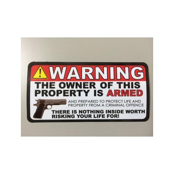 レーシングステッカー(GUN WARNING) ms074 人気 ...