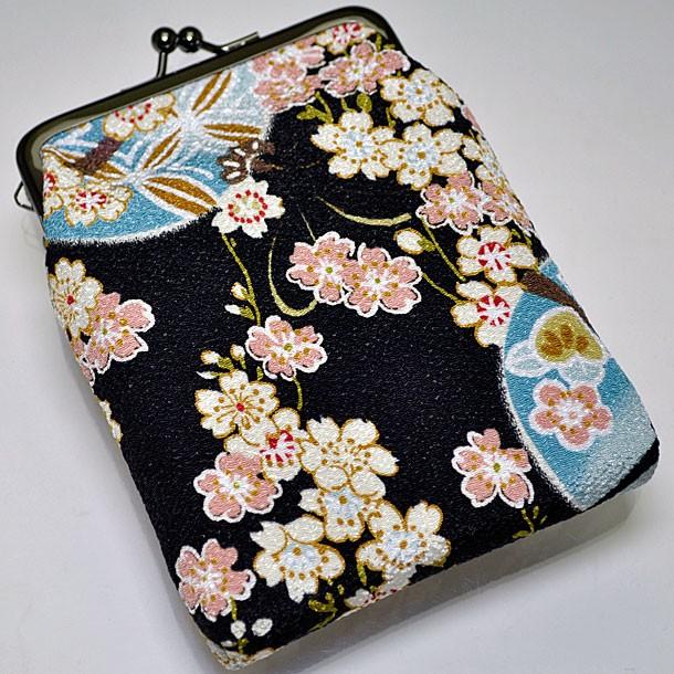 和柄タバコケース日本製 メンズレディースちりめ...