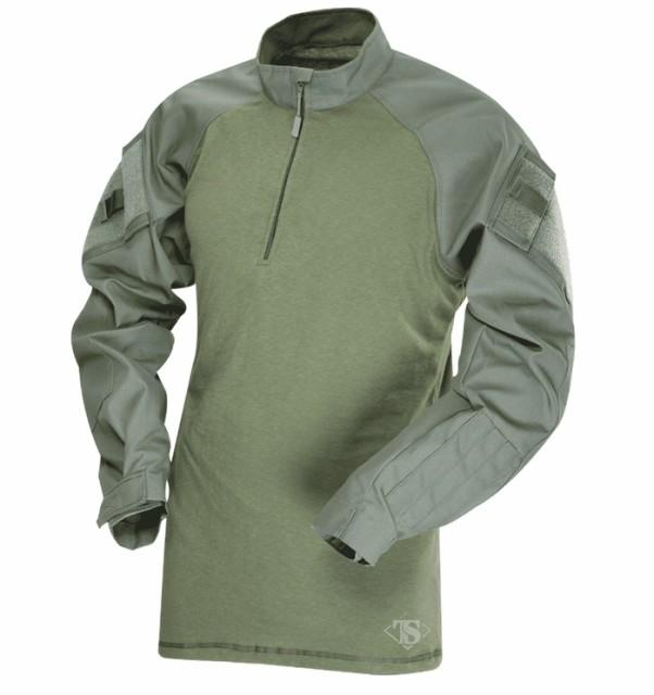 TRU-SPEC MEN'S TRU コンバットシャツ 1/4ZIP OD(...