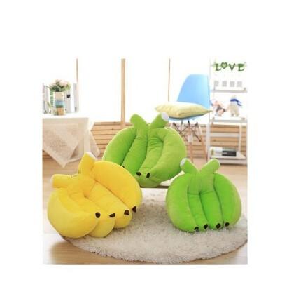 バナナ型 ぬいぐるみクッション/抱き枕/大きい/子...
