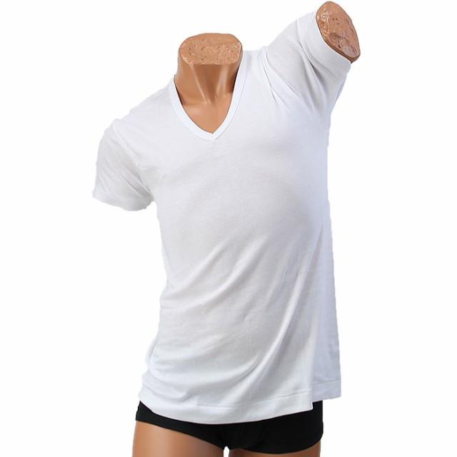 BVD Finest Touch EX V首半袖Tシャツ ホワイト 3L...