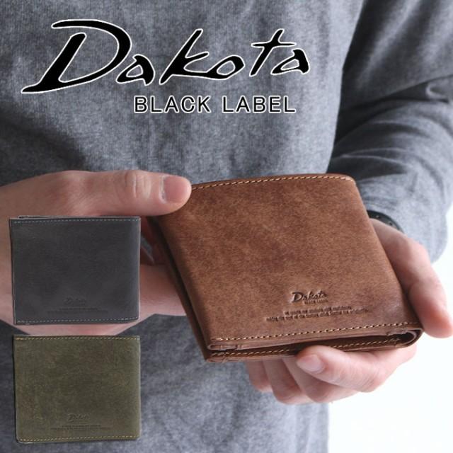 ポイント10倍 Dakota ダコタ 二つ折り財布 ブラッ...