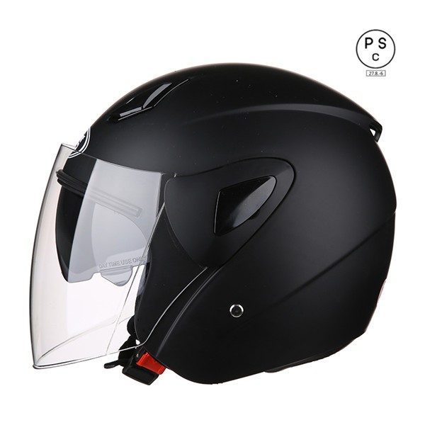 バイクヘルメット ジェット 男女共用ヘルメット ...