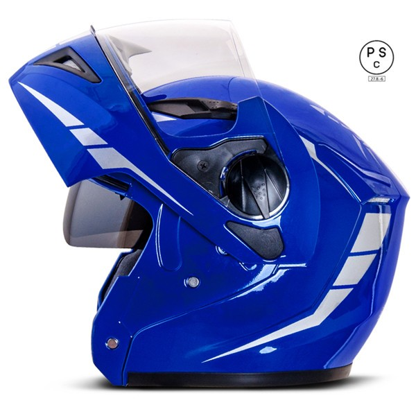 システムヘルメット ダブルシールド バイクヘルメ...