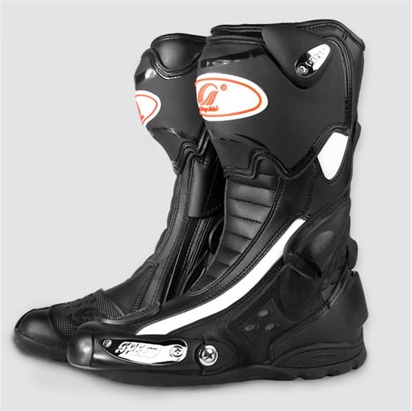 ロングブーツ レーシングブーツ バイク用ブーツ ...
