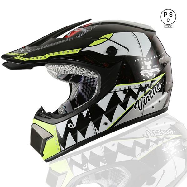 オフロード バイクヘルメット  ゴーグルをプレゼ...