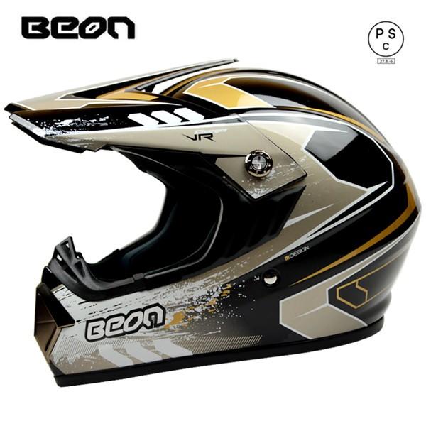 オフロード バイクヘルメット ゴーグルをプレゼン...