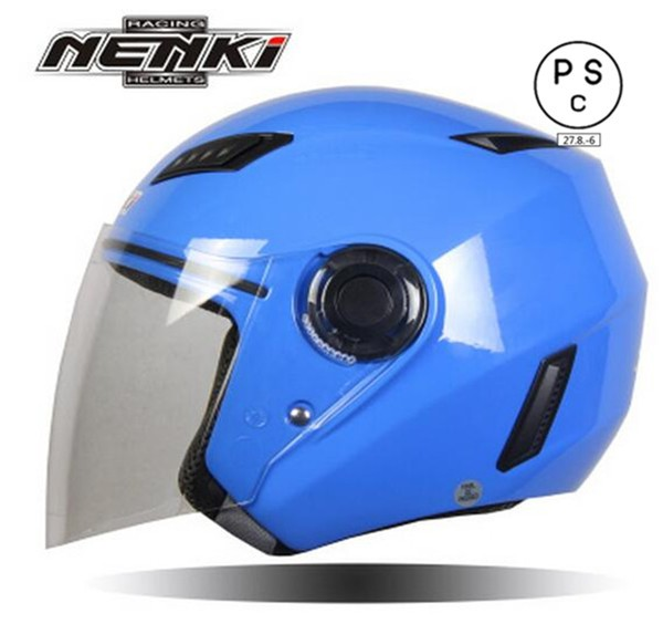 バイクヘルメット バイク用 ジェット 3/4ヘルメッ...