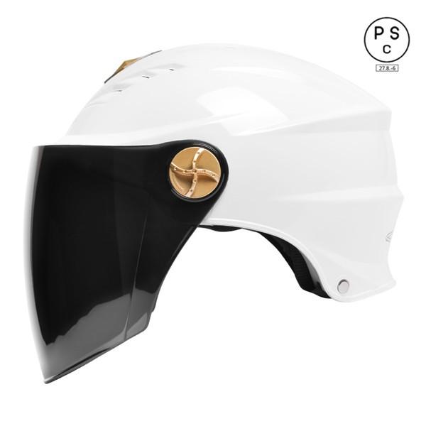 半キャップ バイクヘルメット ヘルメット バイク...