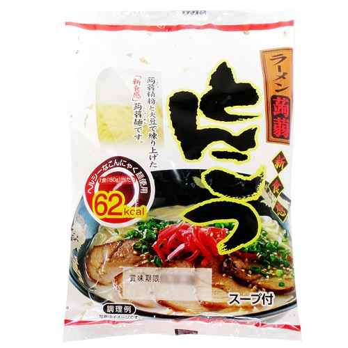 こんにゃくラーメン・とんこつ味・24食【送料無...